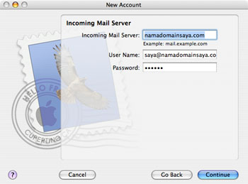 Apple Mail Step 2
