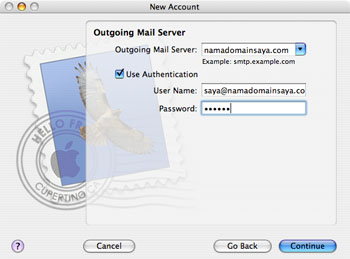 Apple Mail Step 3