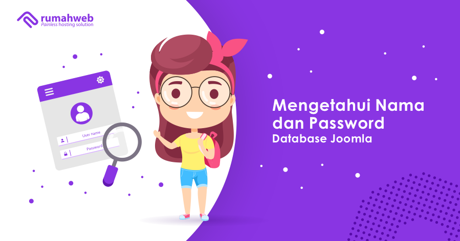 mengetahui nama dan password database joomla