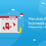 Merubah Bahasa Indonesia Di Website Prestashop 1.6