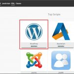 Install cms wordpress di addon domain menggunakan softaculous