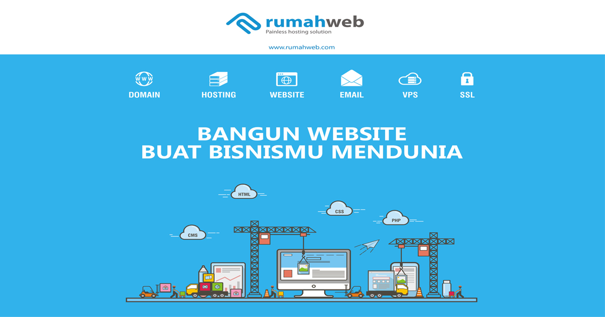 og website builder Rumahweb Indonesia