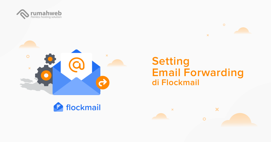 setting email forwarding di flock mail