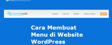 membuat menu di WordPress