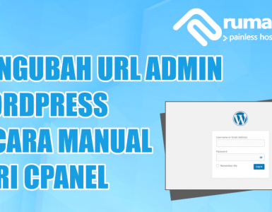 Mengubah URL Admin WordPress manual