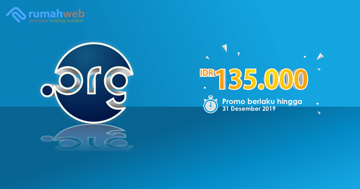 Domain .ORG untuk Organisasi Anda