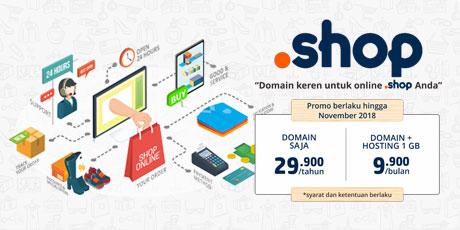 Domain keren untuk online shop Anda