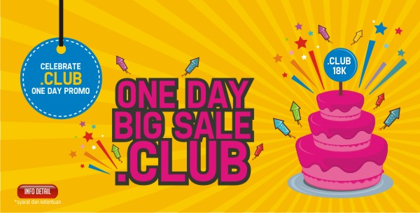 banner big sale .club