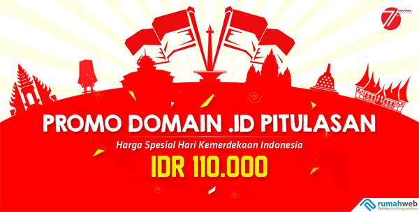 Semarak Pitulasan bersama Domain .ID