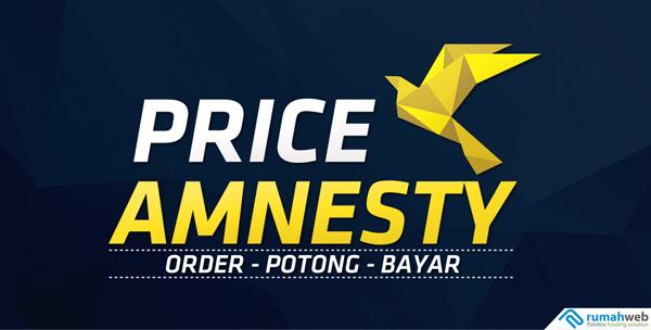 Price Amnesty Promo