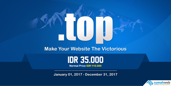 Tetap NgeTOP Bersama Domain .TOP